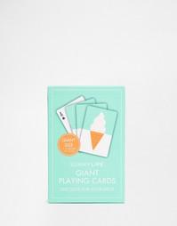 Большие игральные карты Sunnylife - Мульти