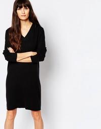 Платье-туника с V‑образным вырезом Minimum - 999 черный