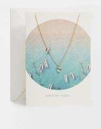 Ожерелье с кристаллами Swarovski Orelia Adventure Awaits Summer Story