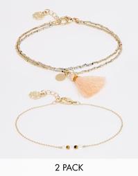 Набор браслетов Pieces Tiana - Золотой