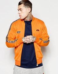 Спортивная куртка-пилот с логотипом Ellesse - Оранжевый