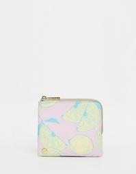 Кошелек для монет с лимонами Mi-Pac - Розовый