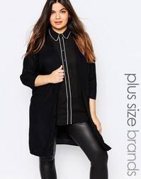 Легкое пальто Junarose - Черный