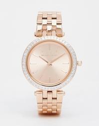 Золотисто-розовые часы Michael Kors Darci - Розовое золото