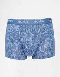 Боксеры-брифы с принтом Bonds Inca - Синий