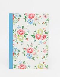 Блокнот формата A5 с розами Cath Kidston - Белый