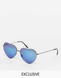 Эксклюзивные солнцезащитные очки с зеркальными стеклами и дизайном в в Jeepers Peepers