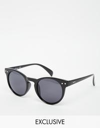 Круглые солнцезащитные очки Jeepers Peepers эксклюзивно для ASOS