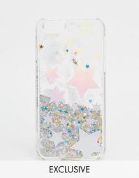 Чехол с голографическими звездами для iPhone 6/6s Skinnydip - Мульти