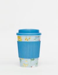 Дорожная чашка с узором Cath Kidston Meadow - Синий