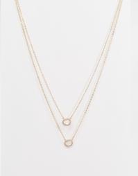 Многоярусное ожерелье ALDO Cornacchia - Золотой
