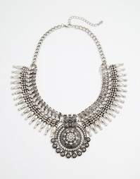 Броское ожерелье ALDO Faeni - Серебряный