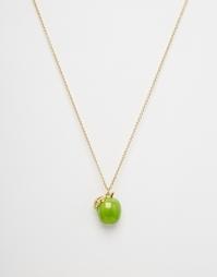 Ожерелье с подвеской-яблоком Bill Skinner - Золотой