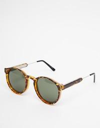 Круглые солнцезащитные очки в черепаховой оправе Spitfire Anorak2