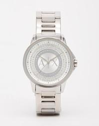 Серебристые часы Armani Exchange Silver Lady Banks - Серебряный