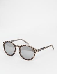 Круглые солнцезащитные очки Cheap Monday - Песочный черепаховый