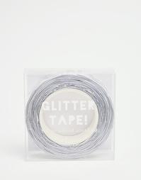 Серебристая декоративная лента с блестками Meri Meri - Мульти