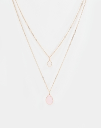 Ожерелье с подвесками ALDO Ciannait - Золотой