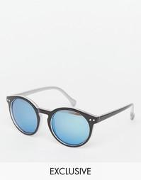 Круглые солнцезащитные очки Jeepers Peepers - Черный