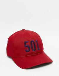 Красная бейсболка Levi's 501 - Красный Levi's®