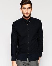 Рубашка с воротником на пуговицах Only & Sons - Черный