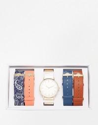 Часы со сменными ремешками ALDO Sinistro - Мульти