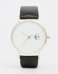 Часы с окошком даты ASOS - Черный