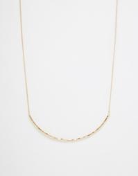 Ожерелье Selected Femme Ilse - Золотой