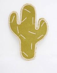 Брошь в виде кактуса ASOS - Зеленый