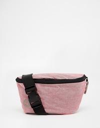 Сумка‑кошелек на пояс из шамбре Mi‑Pac - Розовый
