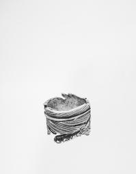 Кольцо с пером Icon Brand - Серебряный