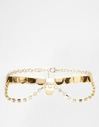 Ожерелье-чокер ASOS Premium - Золотой