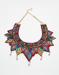 Ожерелье-воротник дружбы ASOS - Мульти