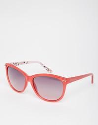 Солнцезащитные очки с контрастными линзами кошачий глаз Ted Baker Rain