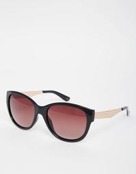Круглые солнцезащитные очки Ted Baker Camelia - Черный