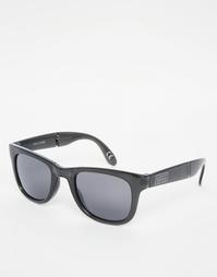 Складывающиеся солнцезащитные очки в черной оправе Vans Spicoli VUNKFZ