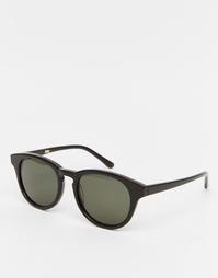 Черные солнцезащитные очки в круглой оправе Han Kjobenhavn Timeless