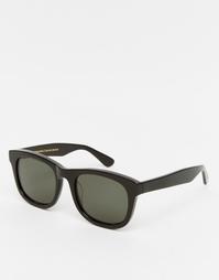 Солнцезащитные очки в черной квадратной оправе Han Kjobenhavn Wolfgang