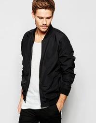 Куртка-пилот Selected Homme - Черный