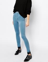 Супероблегающие джинсы с завышенной талией Dr Denim Solitaire - Синий