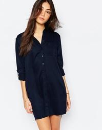 Платье-рубашка Jack Wills - Темно-синий