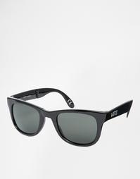Черные складные солнцезащитные очки Vans Spicoli VUNK95Q - Черный