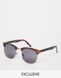 Солнцезащитные очки в стиле ретро Vans Wayde - Коричневый