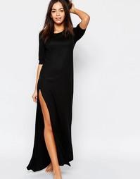 Длинная ночная сорочка Chelsea Peers - Черный