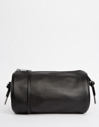 Круглая сумка через плечо Monki - Черный
