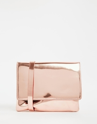 Сумка через плечо Monki - Розовое золото
