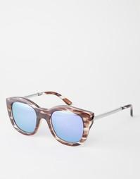 Зеркальные солнцезащитные очки Le Specs Runaways Luxe