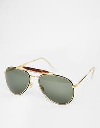 Круглые солнцезащитные очки Hindsight Vintage Kirkpatrick - Золотой