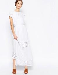 Многоярусное платье макси Harlyn - Слоновая кость