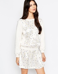 Платье с принтом лампочки See By Chloe - Белый